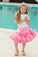 Юбка американка. Розовая многослойная. Очень пышная и стильная.