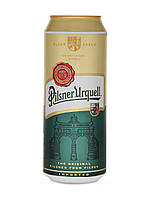 Пиво светлое Pilsner Urquell 4,4% 0.5 банка