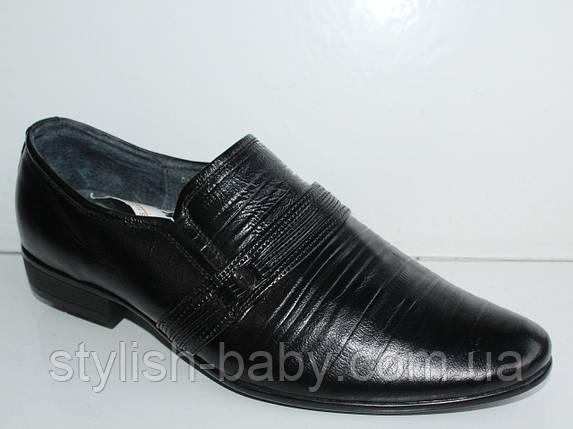 Школьная обувь. Подростковые кожаные туфли бренда Kangfu для мальчиков (рр. с 36 по 41), фото 2