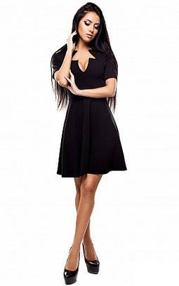 Жіноче чорне вечірнє плаття Malibu