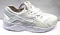 Женские/подростковые кроссовки белые и черные 0143НИМ