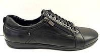 Мужские туфли натуральная кожа черные 0010МАР