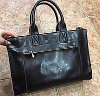 Женская сумка классика натуральная глянцевая кожа 2 отдела 0006-01