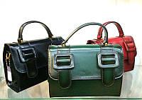 Женская сумка пряжки европейка натуральная кожа  0011-01