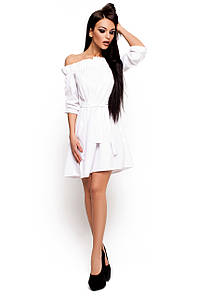 Жіноче біле плаття-міні Milana (S-M)