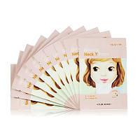 Тканевая маска для шеи с женьшенем Etude House