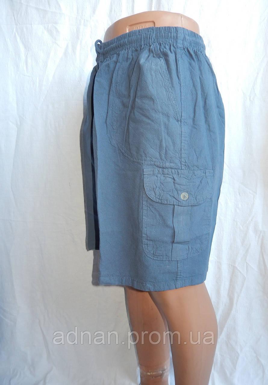 Мужские шорты, жатка норма, с карманом 002, / купить шорты мужские оптом