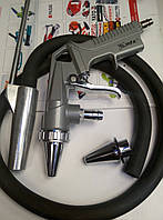 Пистолет пескоструйный MATRIX пневматический со шлангом. 573289