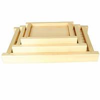 Подставка для подачи суши деревянный 54х33 см.