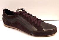Мужские туфли 2017 кожа/замша натуральная черные, коричневые 0003ЛЕМ
