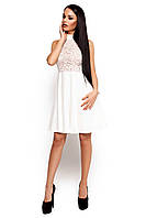 Неповторне біле коктейльне плаття Deisy (S, M)