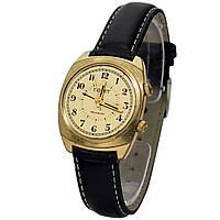 Полет 18 камней сделано в СССР позолоченные часы с будильником -買い腕時計ソ