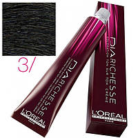Dia Richesse - Краска для волос без аммиака 3 темный шатен, 50 мл