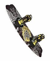 Вейкборд Bodyglove Phase 5 с ботинками для крепления.