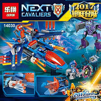 Конструктор Lepin серия Next Cavaliers 14030 Самолёт-истребитель «Сокол» Клэя (Аналог Lego Nexo Knights 70351), фото 3