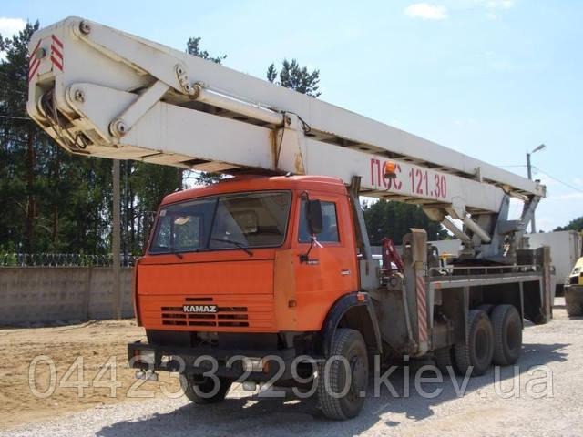 услуги автогидроподъёмника 30 метров