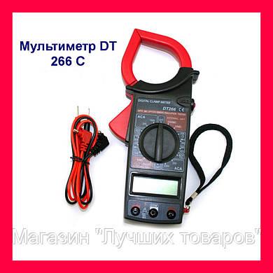 Мультиметр DT 266 C с токоизмерительными клещами