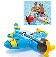Детский надувной самолет,плотик, для веселого купания.