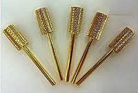 Насадки металлические золото