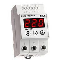 Реле контроля напряжения, тока, фаз на DIN-рейку