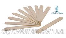 Шпатели для депиляции, лопатки деревянные 10шт