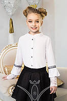 Блуза школьная Изыск Размер 122 - 152 см