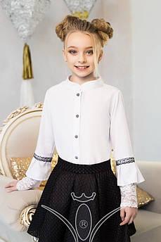Блуза школьная Изыск Размер 122 см 128 см