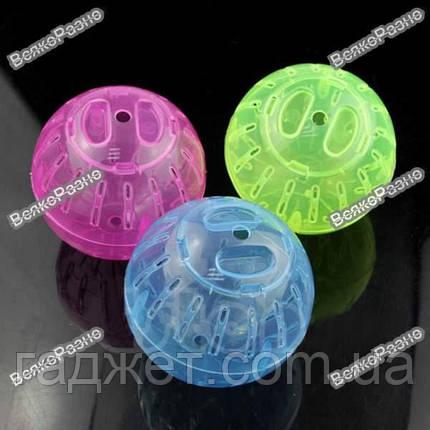 Прогулочный шар для хомяка голубого цвета., фото 2