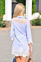 Платье-туника женское летнее в полоску А9062