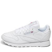 "Кроссовки мужские Reebok Classic Leather ""All White"""