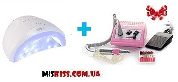 Фрезер  electric drill jd 500 +Лампа SUN one 48 W