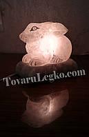 Соляная лампа - Зайчик (3,5 кг)