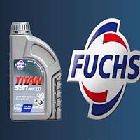 Моторное масло  полусинтетика FUCHS TITAN SYN PRO GAS 10W40 1L для автомобилей с ГБО (LPG/CNG)