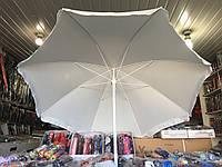 Тканевой пляжный зонт 2м.
