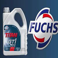 Моторное масло синтетика FUCHS TITAN GT 1 PRO C-2 5W30 4L