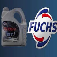 Моторное масло синтетика FUCHS TITAN GT 1 PRO FLEX 5W30 XTL 4L