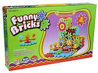 Детский развивающий конструктор Funny Bricks на 81 деталь (Фанни Брикс), фото 1