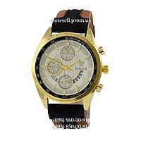 Часы Rolex Date 899 Brown-Gold-White