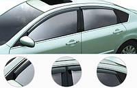 Дефлектора боковых окон Hyundai i30 с 2007-, 4шт.