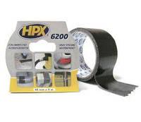 Сверхпрочная армированная ремонтная лента HPX 6200, 50 мм.*5 м. черная