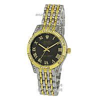 Часы Rolex B15 Quartz Silver-Gold Gold-Black