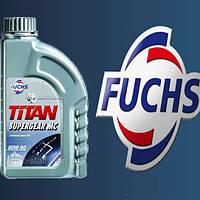 Трансмиссионное масло минеральное FUCHS TITAN SUPERGEAR 80W90 1L