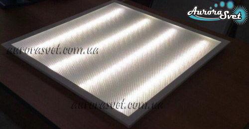AuroraSvet LED светильник 40Вт 6500К. Светодиодный светильник. Растровый светодиодный светильник.