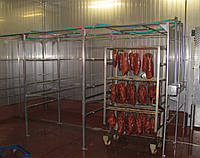 Установка для душирования (мойка для коптильных рам), фото 1
