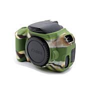 Защитный силиконовый чехол для фотоаппаратов Canon EOS 600D, 650D, 700D  - камуфляжный