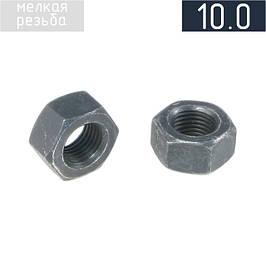 Гайка шестигранна з дрібною різьбою кл. прочн. 10.0 DIN 934
