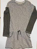 Платье- туника серая