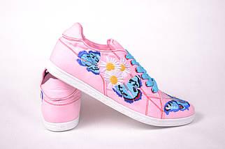 """Кеды """"Бабочка"""" IK-508 (розовый), фото 2"""