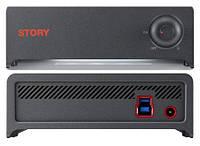 Внешний HDD USB Samsung STORY Station 3.0 1TB 5400rpm 16MB HX-DTA10EB/A62 3.5 USB 3.0 External