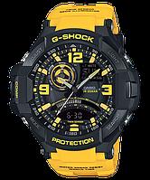 Мужские часы Casio G-SHOCK GA-1000-9B Касио противоударные японские кварцевые